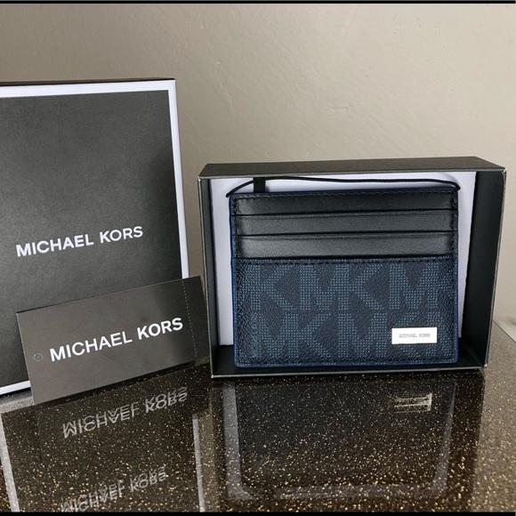 b36581e4843a Michael Kors Jet set men s tall card case wallet